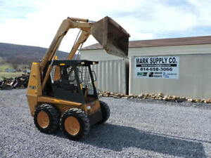 1998 Case 1840 Rubber Tire Skid Steer Loader Cummins Bobcat Loader Quick Attach