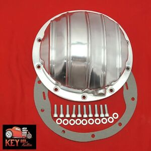 10 Bolt Polished Aluminum Differential Rear End Cover Chevy 8 5 8 1 2 Car Truck