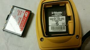 Trimble Pathfinder Pocket Gps Receiver 43800 00 With Charger
