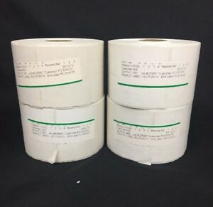 4000 Direct Thermal Resale World Liberty Consignment 2 across Adhesive Tags