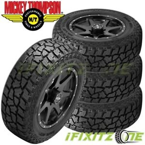 4 Mickey Thompson Baja Atzp3 35x12 50r20lt 10p E Hybrid All Terrain Tires