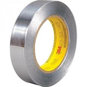 3m 425 Aluminium Thermally Conductive Foil Tape 25mm X 55m Chemical Resistant