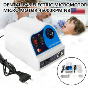 Marathon Dental Micromotor N8 Polisher Unit For 50k Rpm Handpiece With Pedal Hot