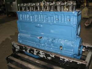 235 Chevy Reman Longblock Engine 54 62
