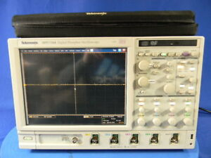 Tektronix Dpo7104 Digital Oscilloscope 1 Ghz 4 Channels