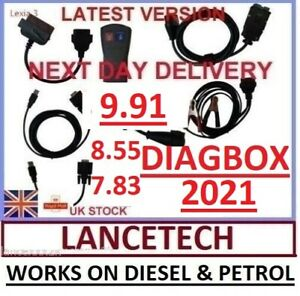 Lexia 3 Diagbox 9 91 855 783 Peugeot Citroen Diagnostic Interface Pp2000 Can Bus