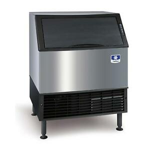 Manitowoc Uyf 0310a 290lb Neo Series Undercounter Half Dice Ice Machine Air