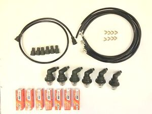 1934 1955 Dodge Car And Truck 6 Cylinder Spark Plug Wires Spark Plugs And Boots