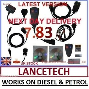 Lexia 3 Diagbox 7 83 Peugeot Citroen Diagnose Interface Pp2000 Can Bus V50 V25