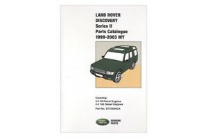 Land Rover Parts Catalogue Discovery 2 Part Stc9049cb