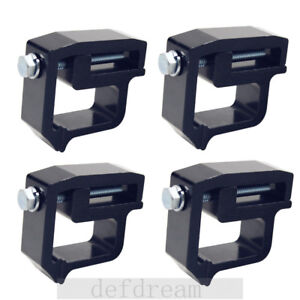 4pcs set Truck Cap Topper Camper Shell Mounting Clamps Heavy Duty