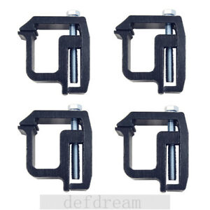 4pcs Truck Topper Camper Clamps For Mounting Clamps For Truck Caps