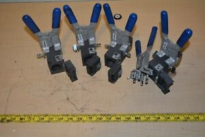 Lot 4x Erico Cadweld Welding Molds 5x Handle Clamp Welding