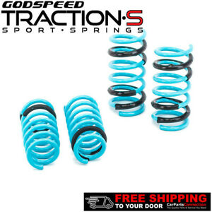 Godspeed Traction s Lowering Springs For Infiniti G35 Coupe V35 2003 2007 Rwd