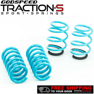 Godspeed Project Traction s Lowering Springs For Ford Mustang 15 19 All Model
