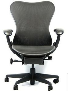 Herman Miller Mirra Chair Mid Century Office Home Gray black