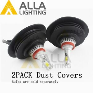 Led High Low Beam Headlight Bulb Fog Light Dust Seal Lamp Cover Housing Cap Soft