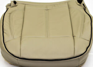 2006 2010 Hummer H3 Factory Tan Leather Passenger Seat Cushion Upholstery Cover