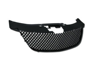 Gsp Black Bentley Mesh Front Hood Grill Grille Kit Replacement 07 10 Chrysler Se