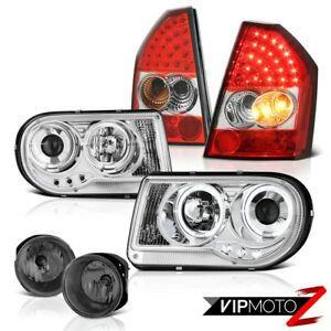 2008 2009 2010 Chrysler 300c 6 1l Projector Headlights Led Taillamps Bumper Fog