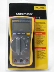 Fluke 115 Digital Multimeter new In Box Msrp 200