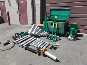 Greenlee 881 D Bender 960 Hydraulic Pump 1813 Table 882 1 1 4 To 4 Gd Cond