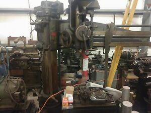 1919 Cincinnati Bickford Radial Arm Drill Press 3a