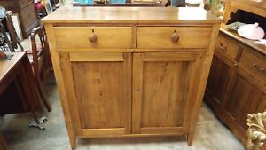 Antique Jelly Cupboard Cabinet Solid Cherry Primitive Excellent Condition