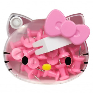 Hello Kitty Pins Thumb Tacks Push Pins Office Thumbtack 30p Pink