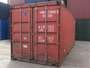 20ft Used Shipping Container In Cargo worthy Condition Detroit Michigan