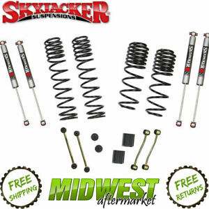 Skyjacker 2 5 Dual Rate Long Travel Lift Kit W M95 Shocks For 2018 Wrangler Jl