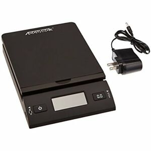 Accuteck 50 Lb All in one Black Digital Shipping Postal Scale Adapter