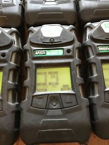 Msa Altair 5 Calibrated Gas Monitor Detector Confined Space W Charger
