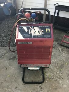 Robinair 17400a R12 Refrigerant Recovery recycling W tank Guages Used Exc Cond