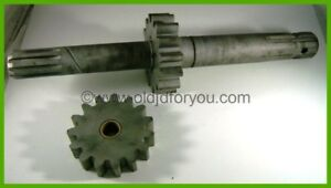 F713r F305r Af1227r John Deere G Pto Shaft With Hydraulic Pump Gears Matched