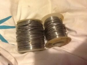 1 5 Pounds Rosin Core Wire Solder And Solid Solder Silver Gray