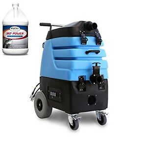 Mytee 7000sx Flood Hog Flood Extractor And Two Cases Carpet Extractor Cleaner