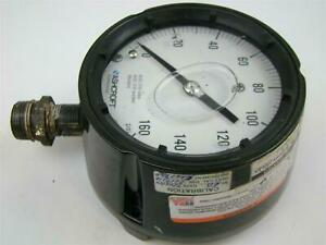 Ashcroft 160 Psi Pressure Gauge Tube And Socket Aisi 316 Welded