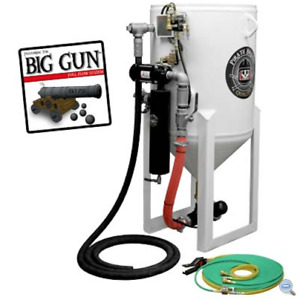 Sandblasting Machine Stationary 6 5 Cu Ft 185 Liters Big Gun