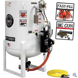 Sandblasting Machine Stationary 20 0 Cu Ft 570 Liters