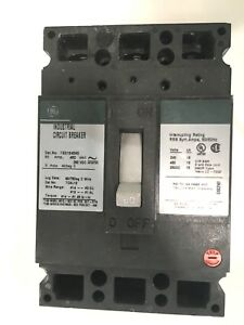 General Electric Ge Ted134060 60a 60 Amp 3 Pole 480v 250vdc Circuit Breaker