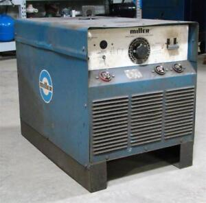Miller Dc Arc Welder Constant Current 3 phase Power Source Srh 444