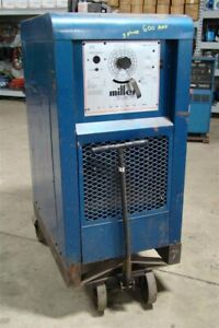 Miller 600a Dc Arc Welder Power Source 230 460v 3 ph Sr 600