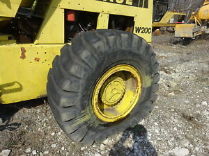 Case W20c Wheel Loader Rear Differential Axle Complete W20