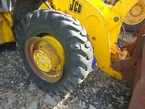 Jcb 409 Wheel Loader Front Axle Differential Complete Perkins