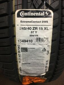 1 245 40zr18 Continental Extreme Contact Dws 97y Xl Bsw Tire