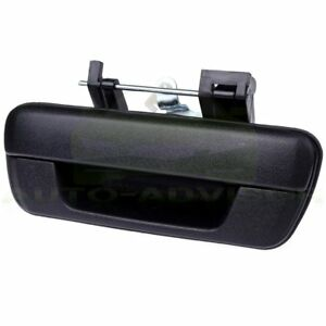 Tailgate Handle W O Lock Provision Black For 04 12 Chevy Colorado Gmc Canyon