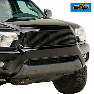12 15 Toyota Tacoma Eag Tacoma Billet Grille Upper Replacement Black Grill
