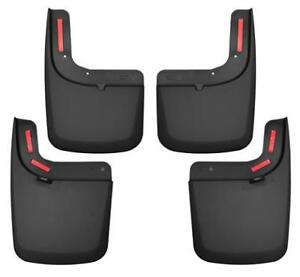 Husky Liners 58476 Husky Liners Mud Guards Black Rear Fits Ford 2017 2017 F 2