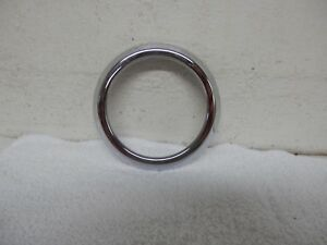 2005 2009 Ford Mustang Hvac Dash Heat Ac Vent Trim Ring Chrome Oem